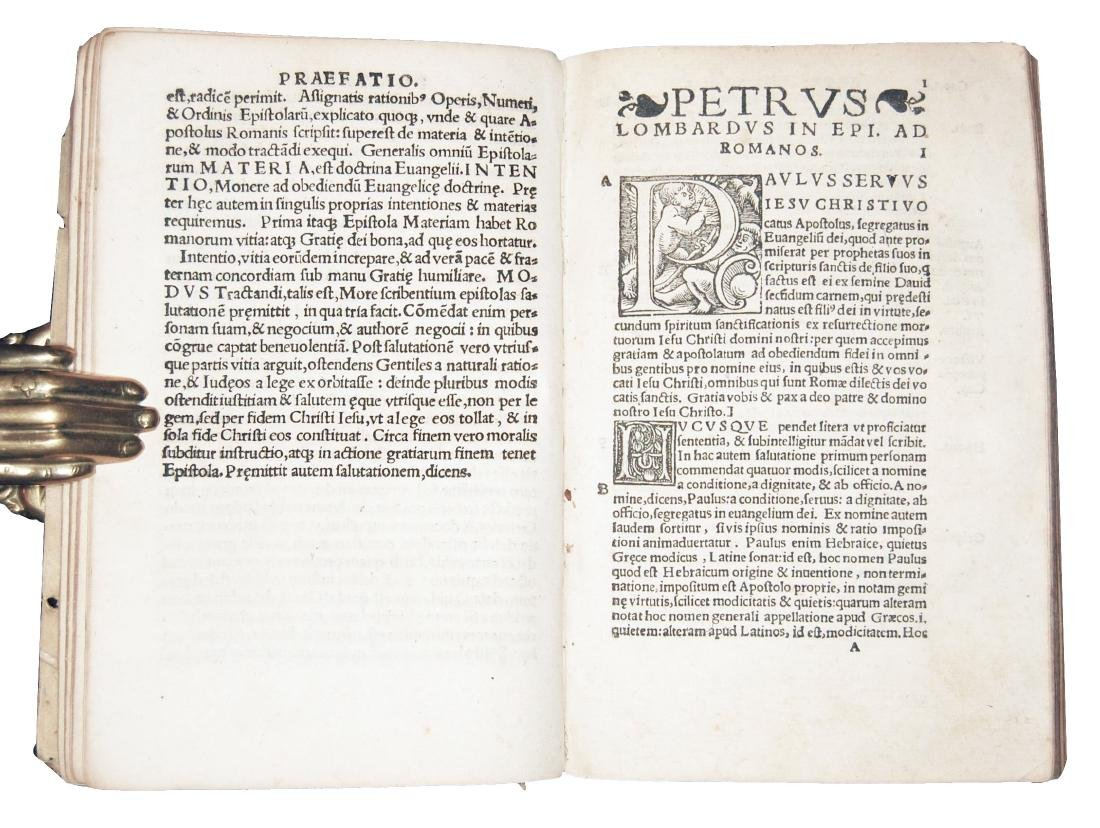 [Epistles, St. Paul] Lombardus, Collectanea, 1537 - 4