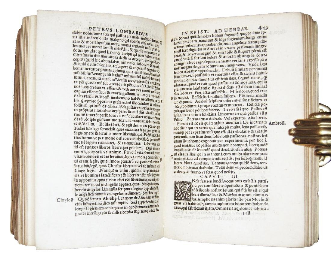[Epistles, St. Paul] Lombardus, Collectanea, 1537 - 5