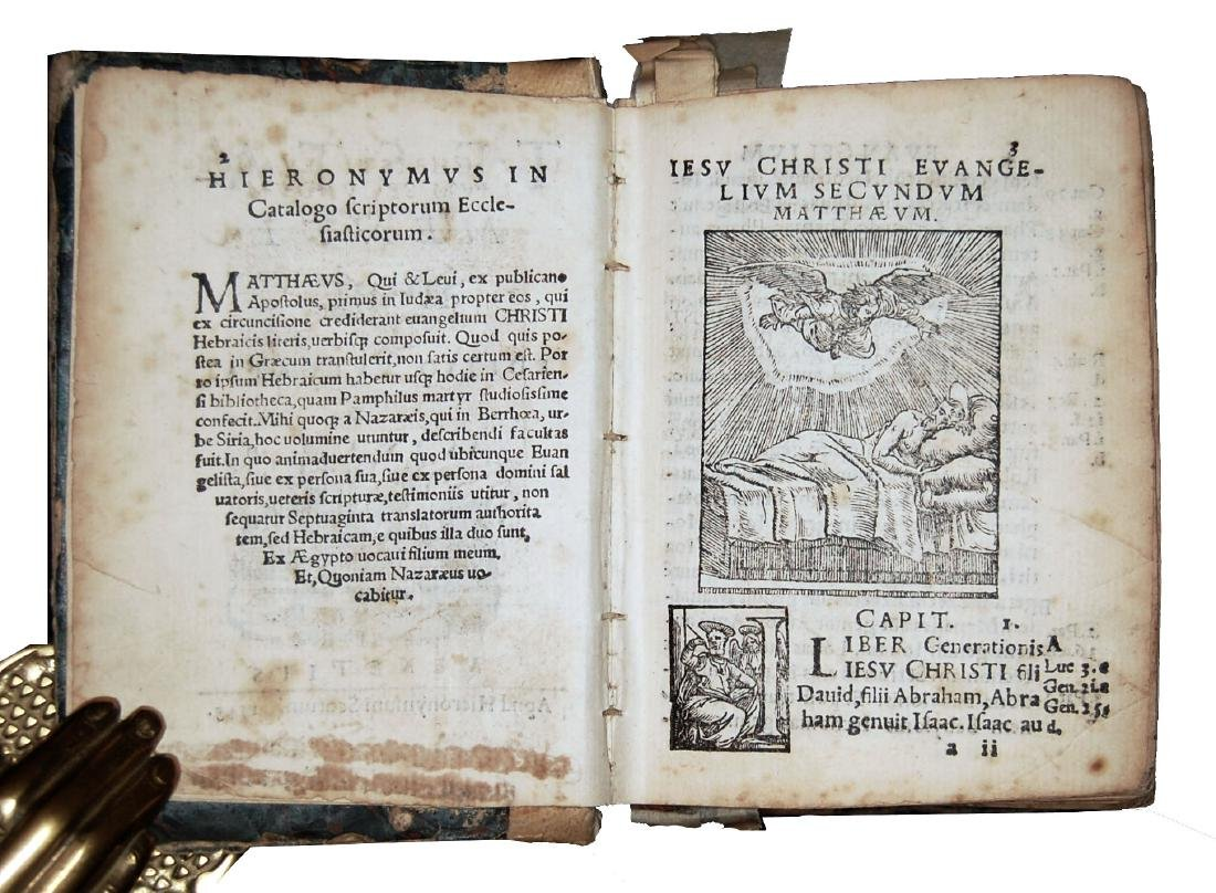 [Holy Books] Testamenti novi, 1548 - 3