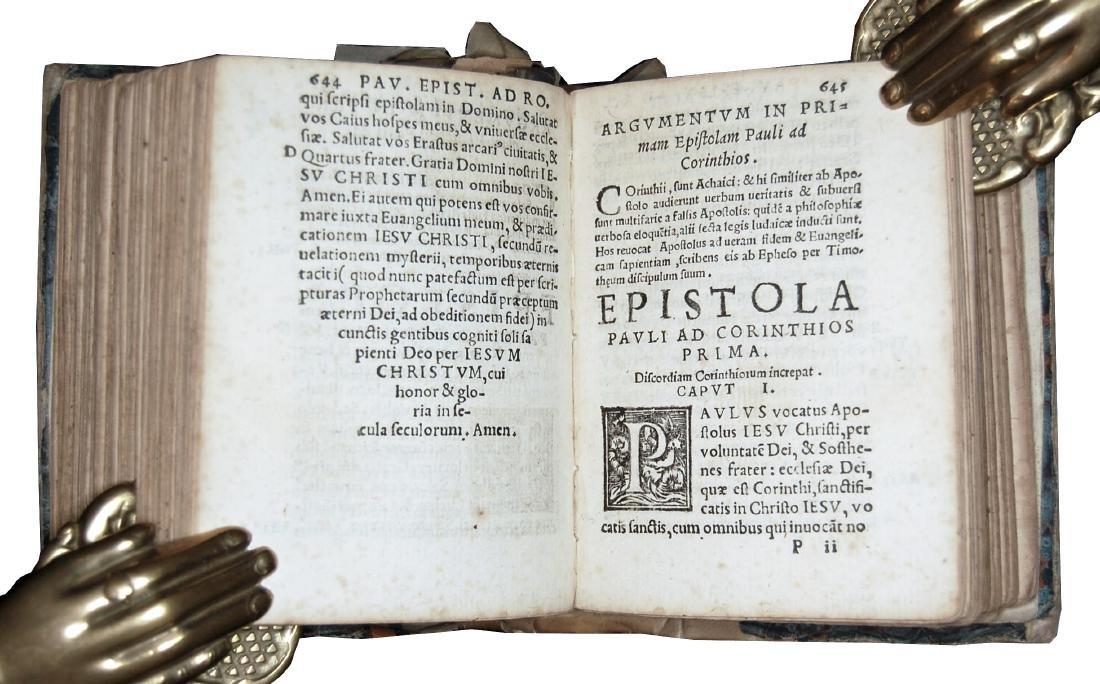 [Holy Books] Testamenti novi, 1548 - 7