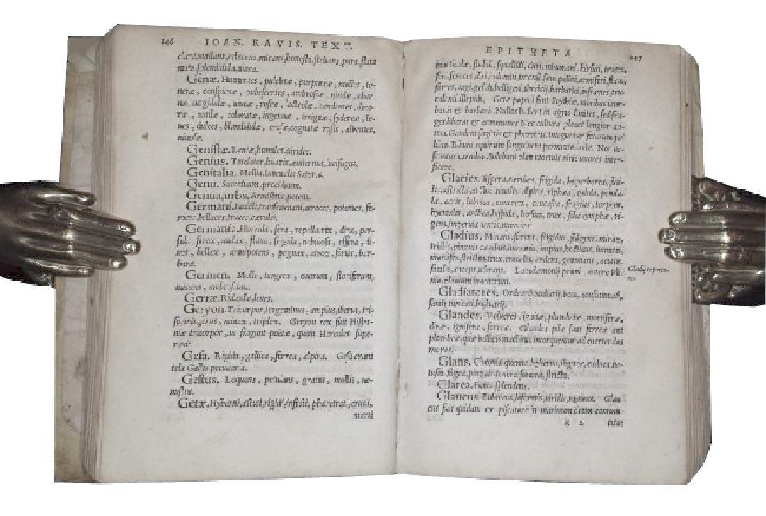 [Epithets] Tixier, Epitheta, 1548 - 3