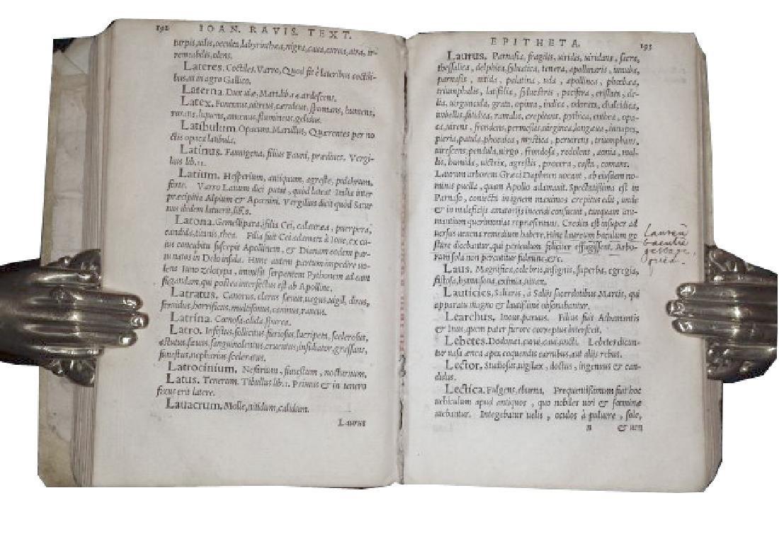 [Epithets] Tixier, Epitheta, 1548 - 5