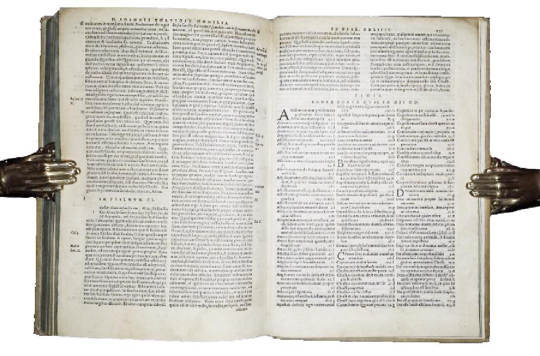 [Greek literature, Homilies] Chrysostom, 1549 - 5