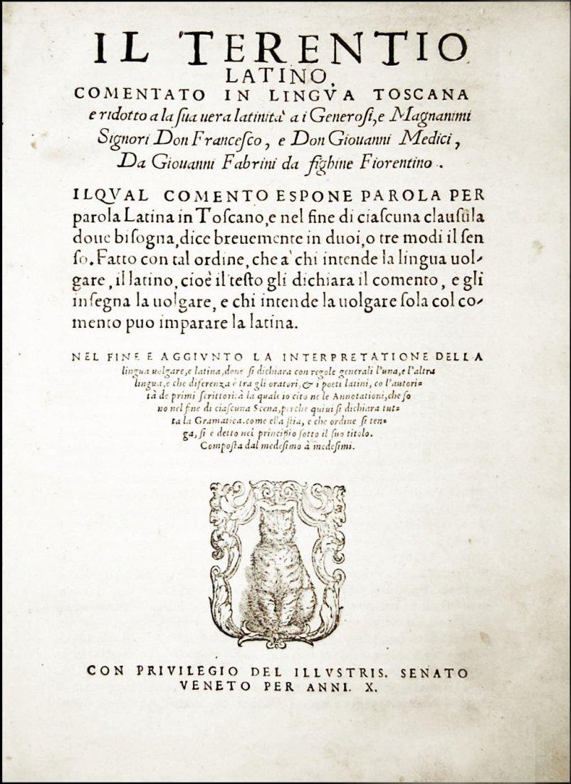 [Classics, Comedies] Terentius, Il Terentio latino