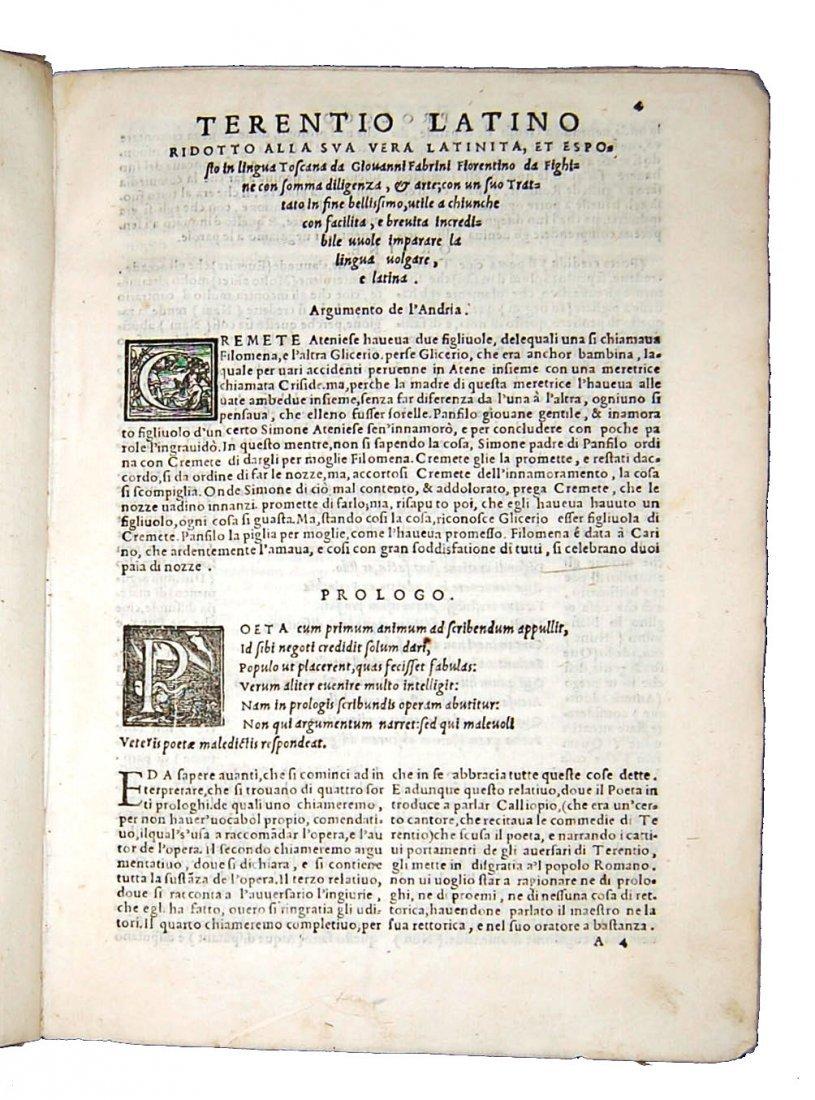 [Classics, Comedies] Terentius, Il Terentio latino - 3