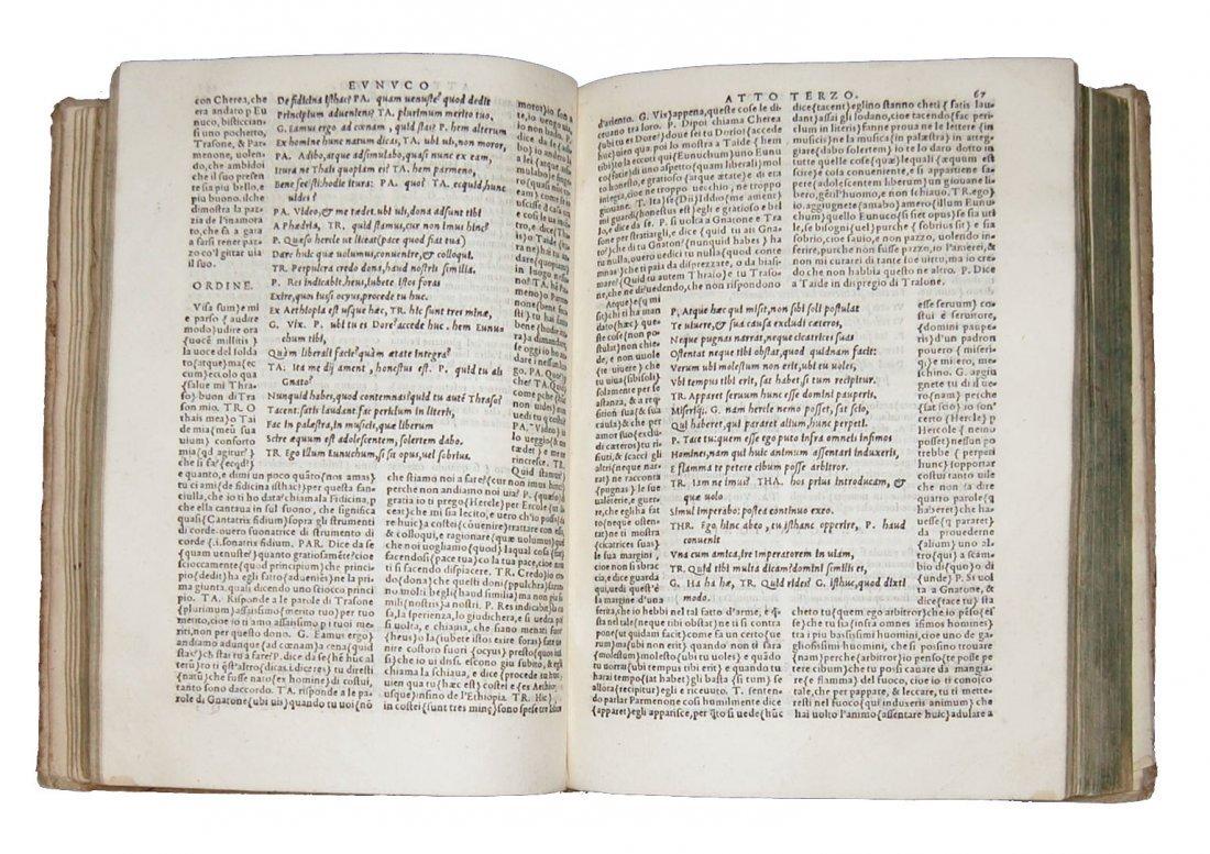 [Classics, Comedies] Terentius, Il Terentio latino - 4