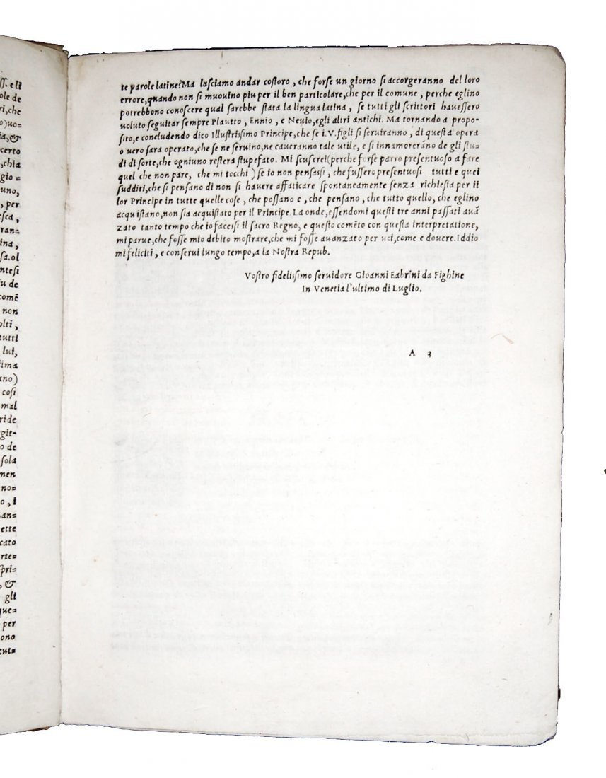 [Classics, Comedies] Terentius, Il Terentio latino - 7
