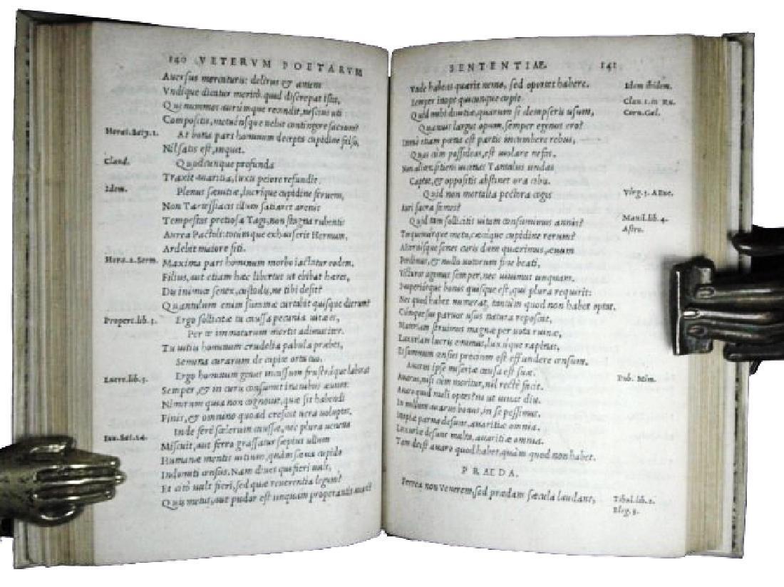 [Ancient Poetry, Aphorisms] Maior, Sententiae, 1551 - 6
