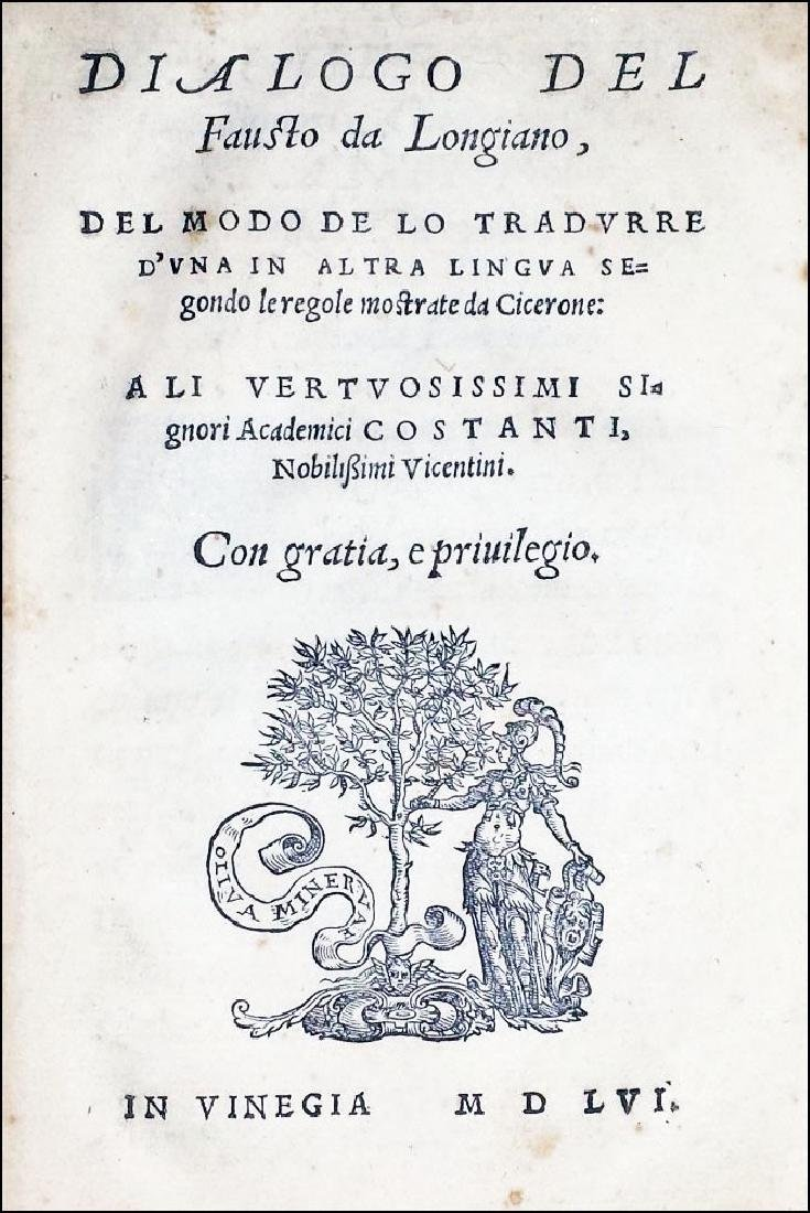 [Art of Translating] Fausto, 1556