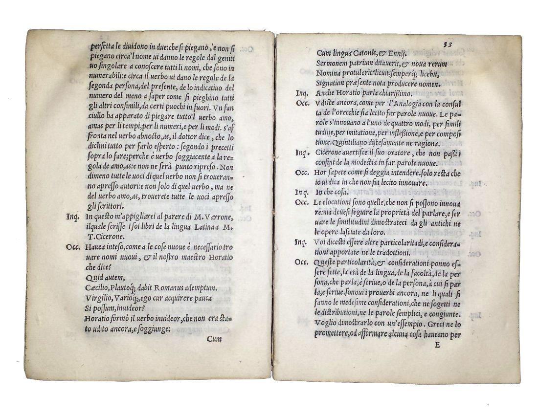 [Art of Translating] Fausto, 1556 - 5