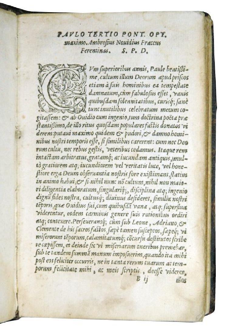 [Renaissance Roman Feasts, Poetry] Fracco, 1559 - 3