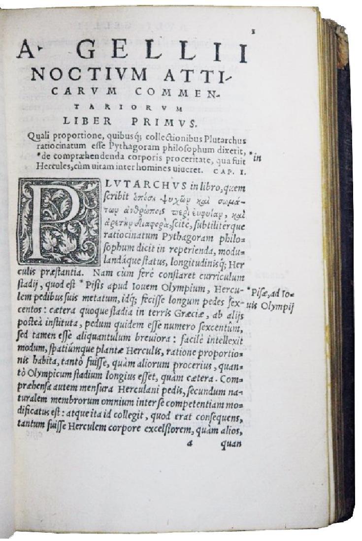 [Roman History, Encyclopedia] Gellius, 1560 - 3