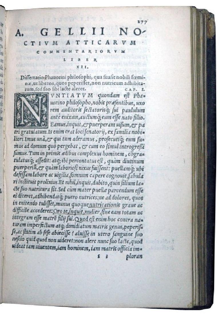 [Roman History, Encyclopedia] Gellius, 1560 - 5