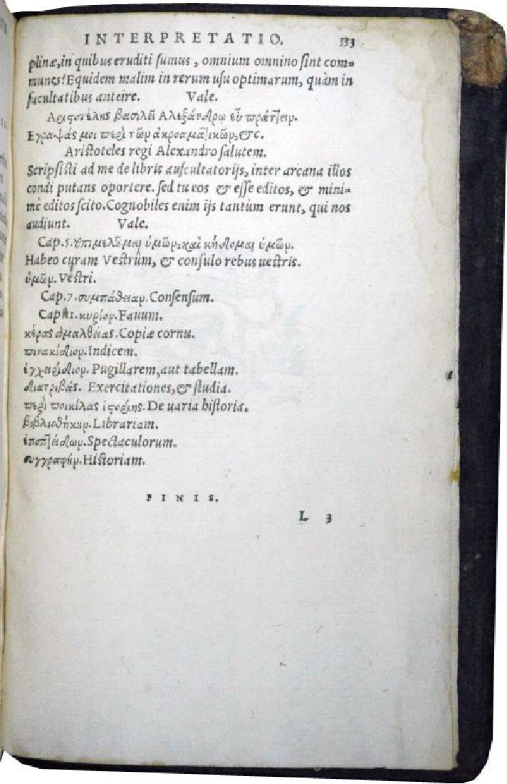 [Roman History, Encyclopedia] Gellius, 1560 - 6