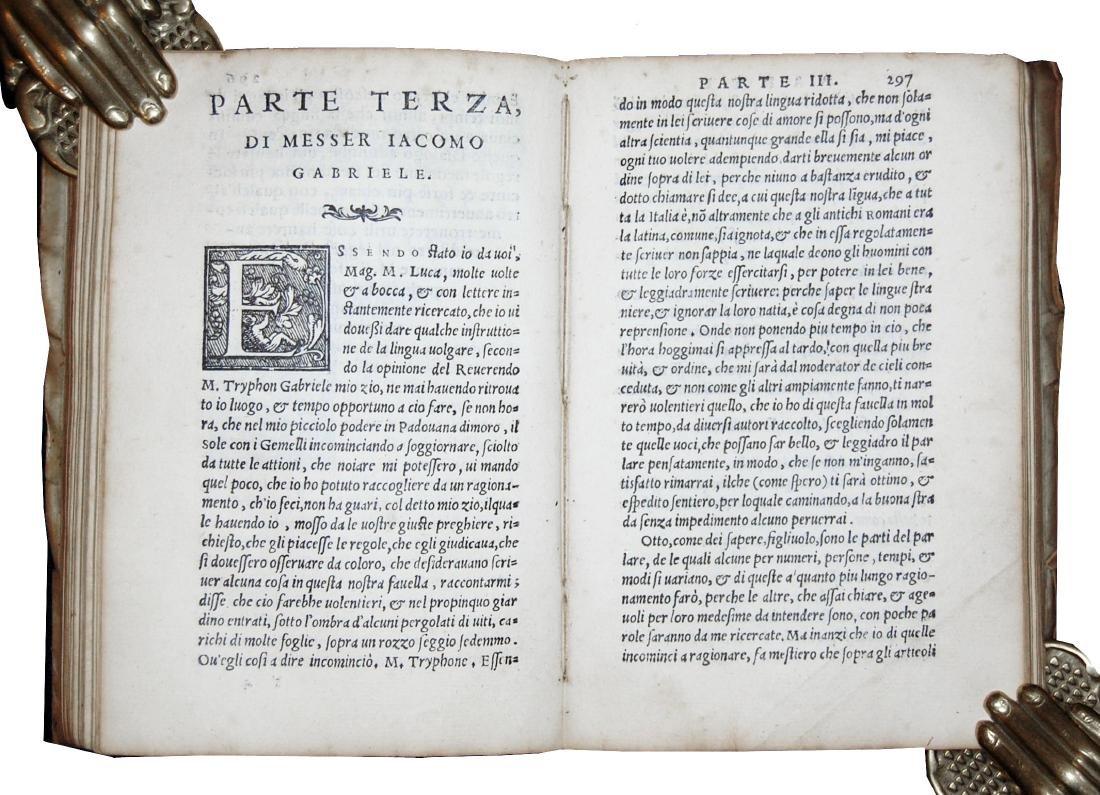 [Italian Language] Sansovino, Osservationi, 1562 - 5