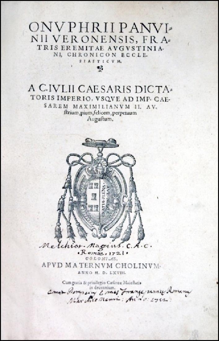 [Church History, Chronology] Panvinio, 1568