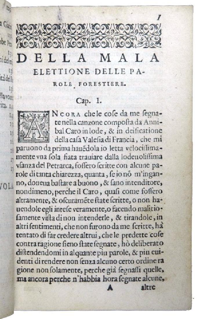 [Literary quarrels, Poetry] Castelvetro, 1573 - 5