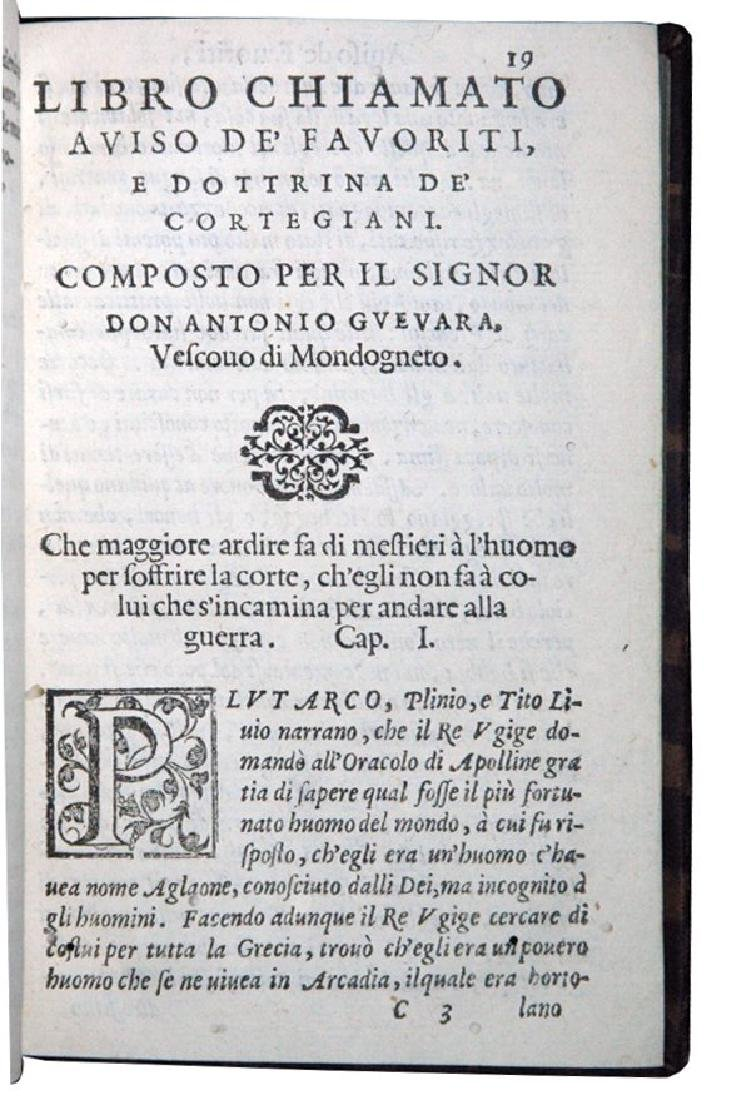 [Courtesy Books, Court and Courtiers] Guevara, 1581 - 3