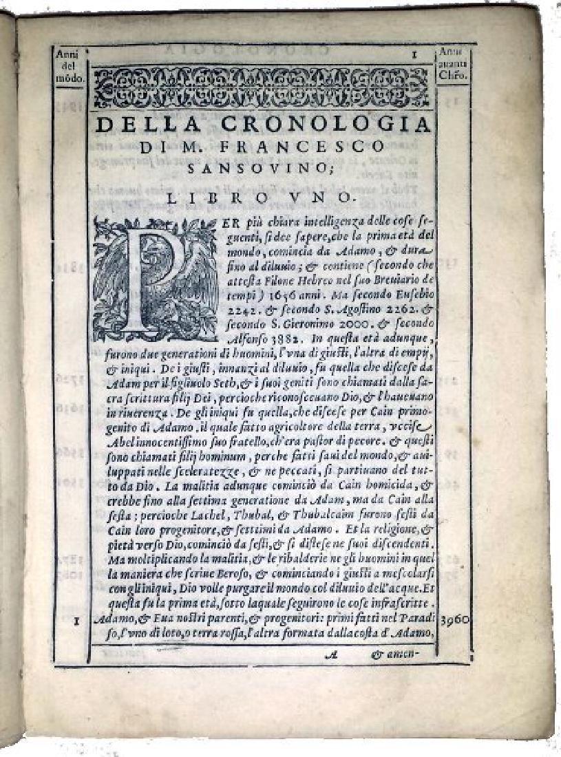 [World Chronicle] Sansovino, 1582 - 3
