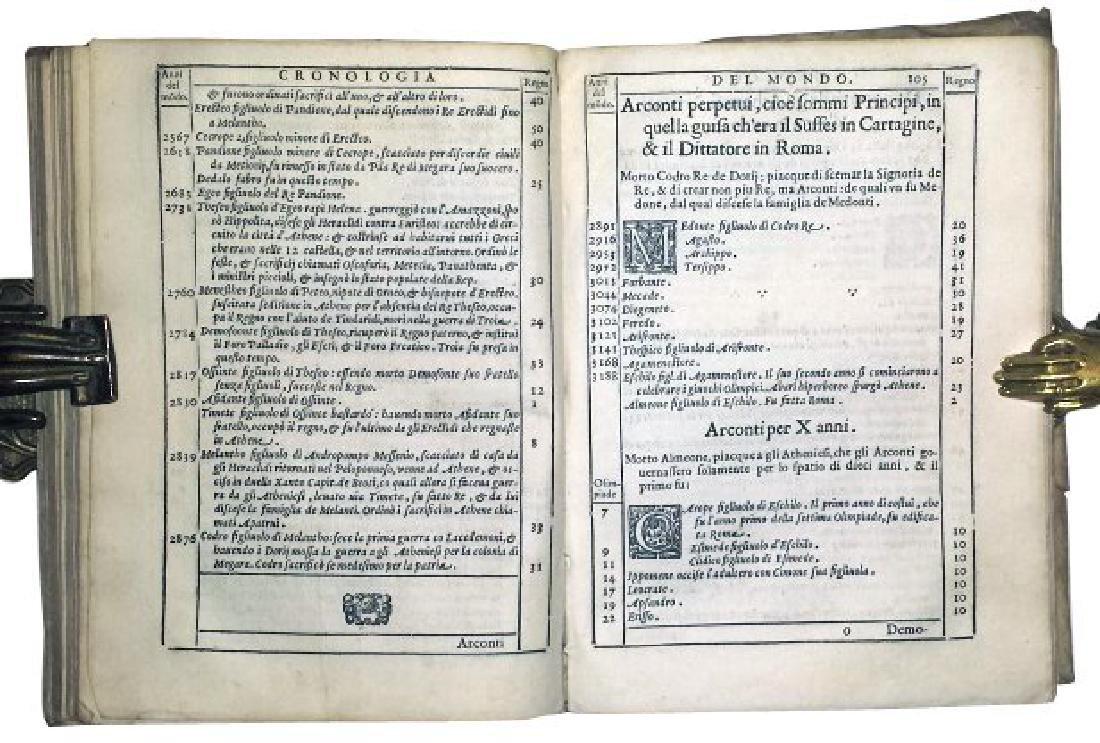 [World Chronicle] Sansovino, 1582 - 4