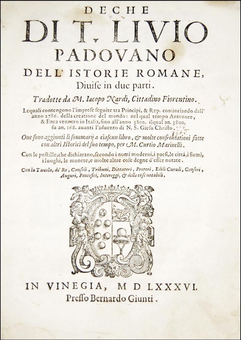 [Roman History] Livius, Deche, 1586, 1st part