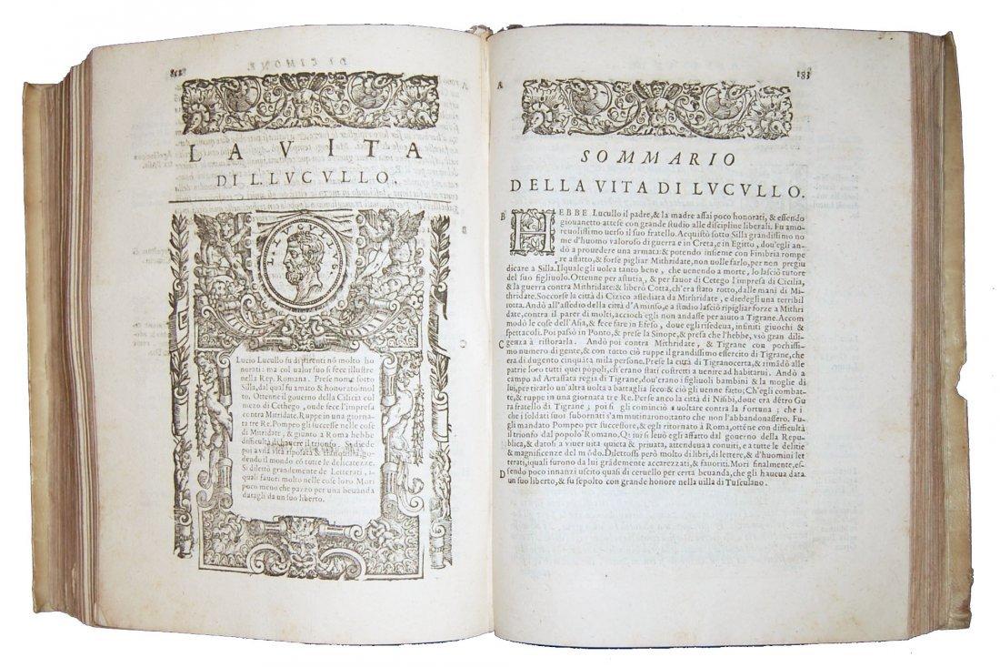 [Biographies] Plutarchus, Uomini illustri 1587 1st part - 4