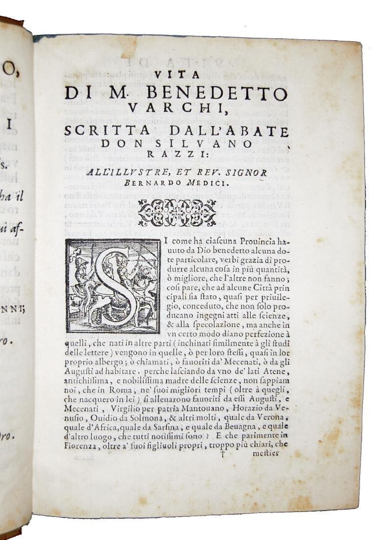 [Erudition, Philosophy, Poetry] Varchi, Lezzioni, 1590 - 3