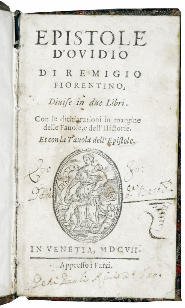 [Latin Poetry, Love Letters] Ovidius, Epistole, 1607