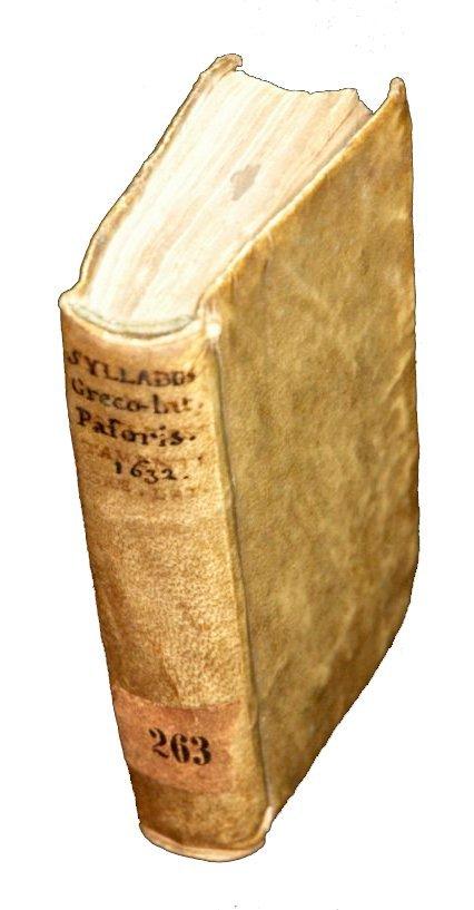 [Gospels, Glossary, Greek, Elzevier] Pasor 1632-64, 2 v - 6