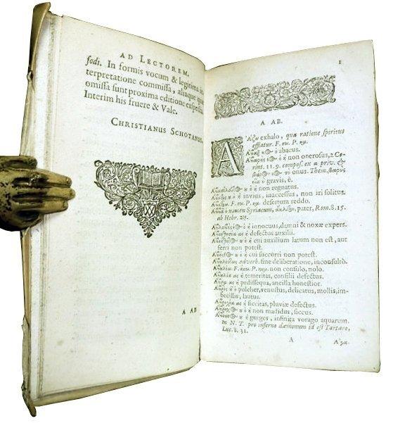[Gospels, Glossary, Greek, Elzevier] Pasor 1632-64, 2 v - 9