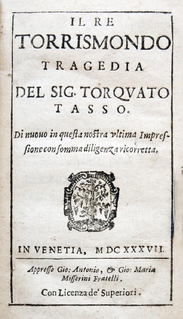 [Renaissance Theatre, Tragedy] Tasso, Re, 1637