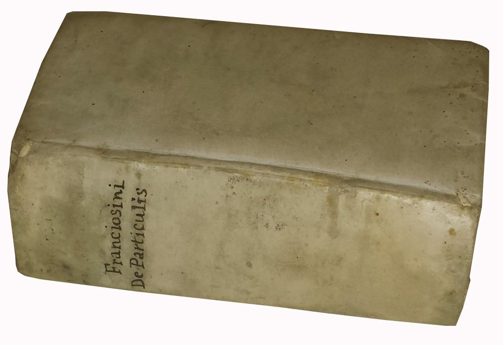 [Italian Grammar] Franciosini, Particulae, 1637
