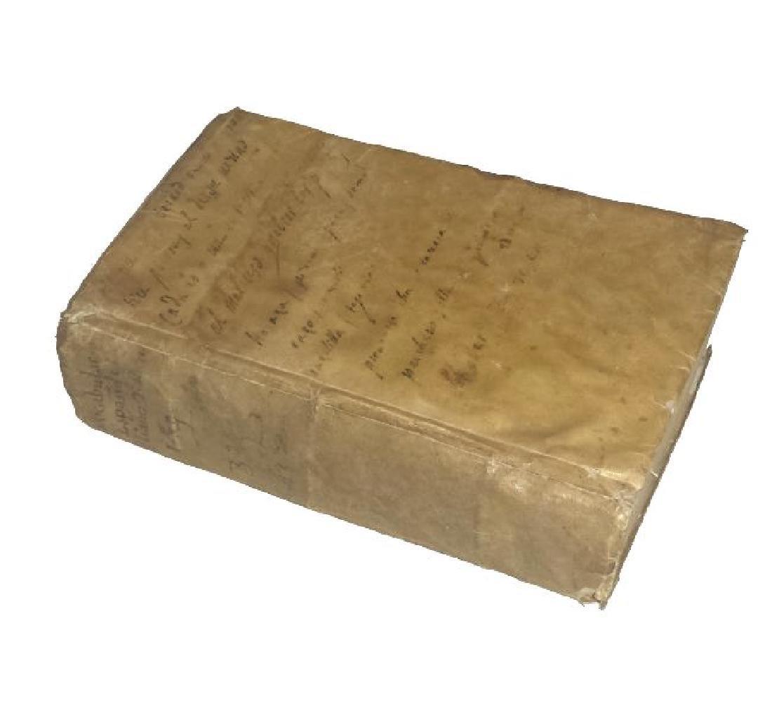 [Spanish Language, Dictionary] Franciosini, 1638, 2 v. - 3