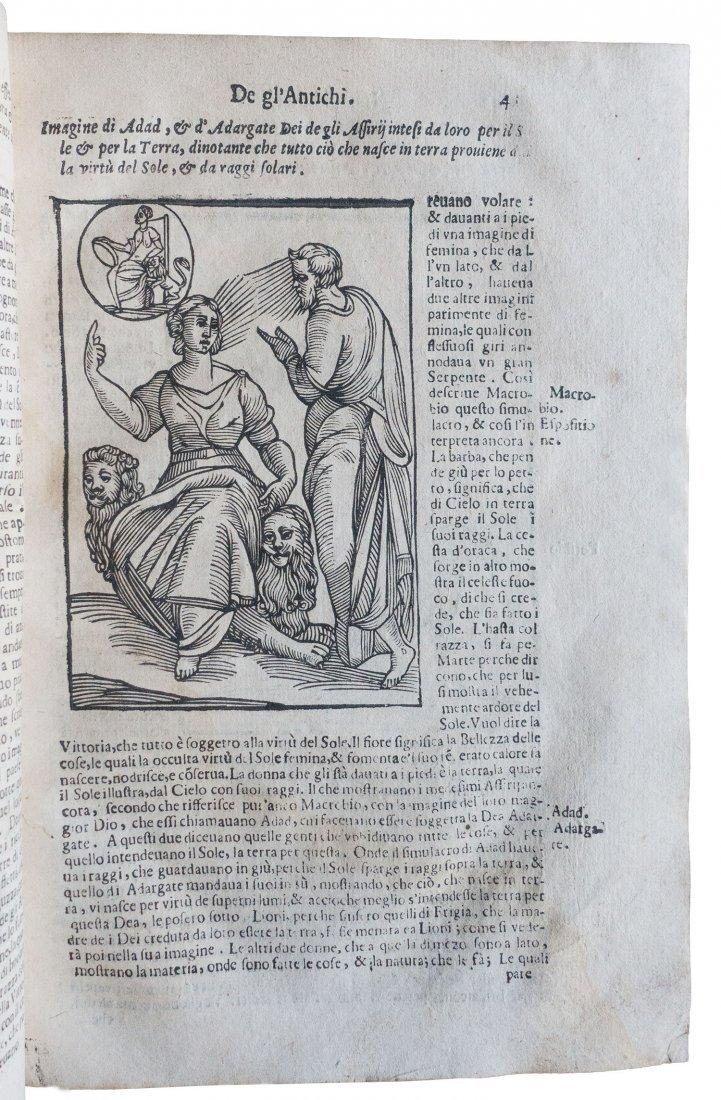 [Religion, Illustrated Book] Cartari, Immagini degli - 6