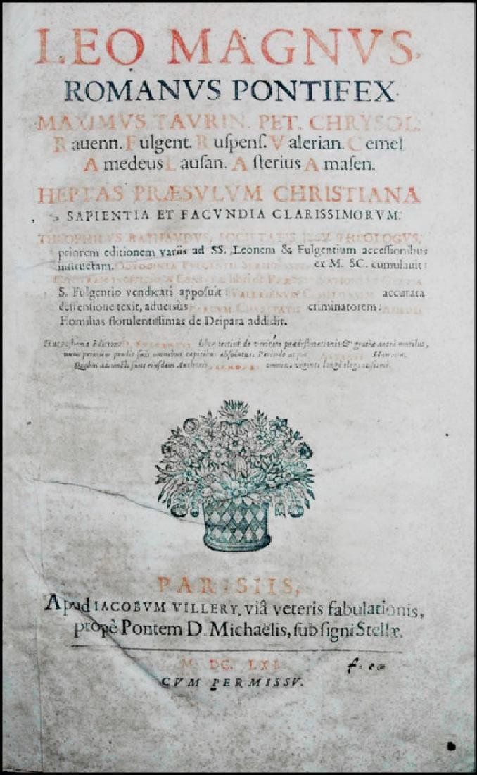 [Sermons] Leo Magnus and others, Sermons, 1661