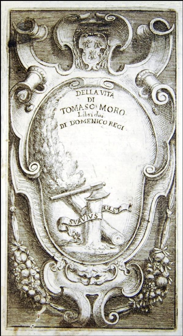 [Biographies, St. Thomas More] Regi, Vita, 1675