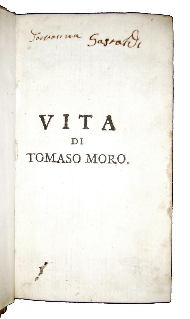 [Biographies, St. Thomas More] Regi, Vita, 1675 - 4