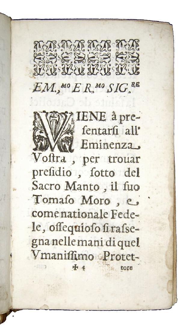 [Biographies, St. Thomas More] Regi, Vita, 1675 - 5