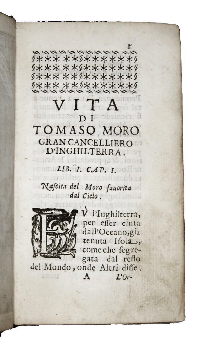 [Biographies, St. Thomas More] Regi, Vita, 1675 - 7