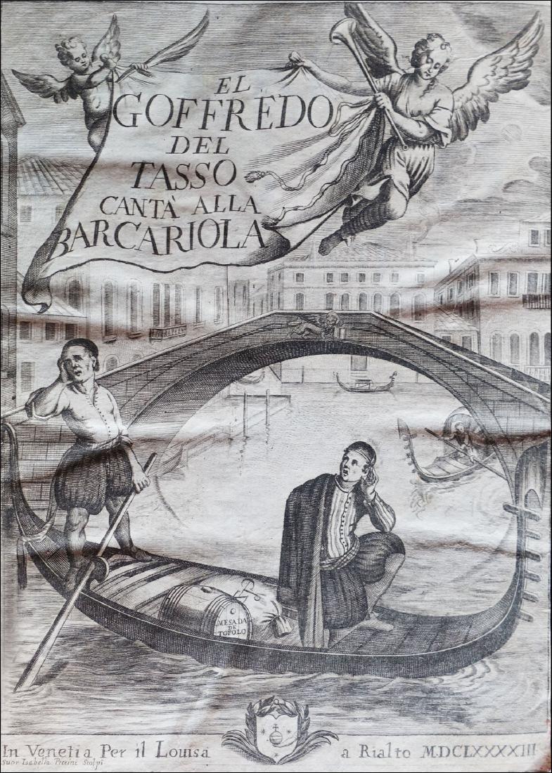[Dialectal Poetry] Tasso El Goffredo del Tasso, 1693