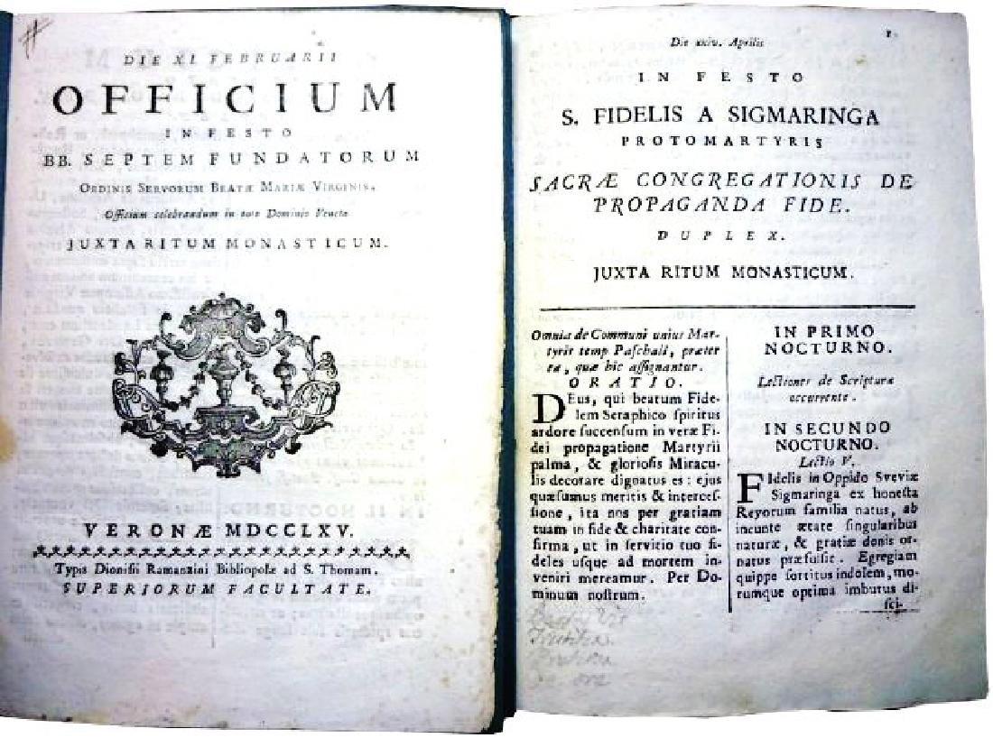[Saints' Feasts] 19 plaquettes, 18th century - 2