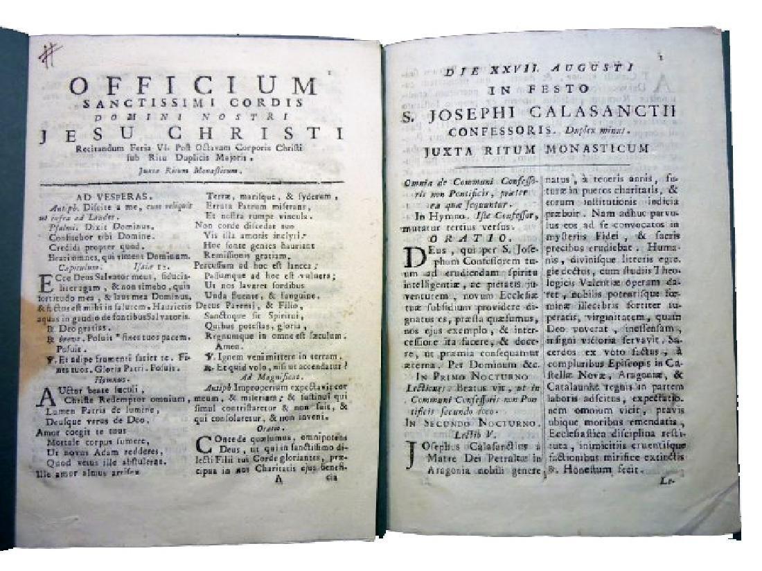 [Saints' Feasts] 19 plaquettes, 18th century - 4