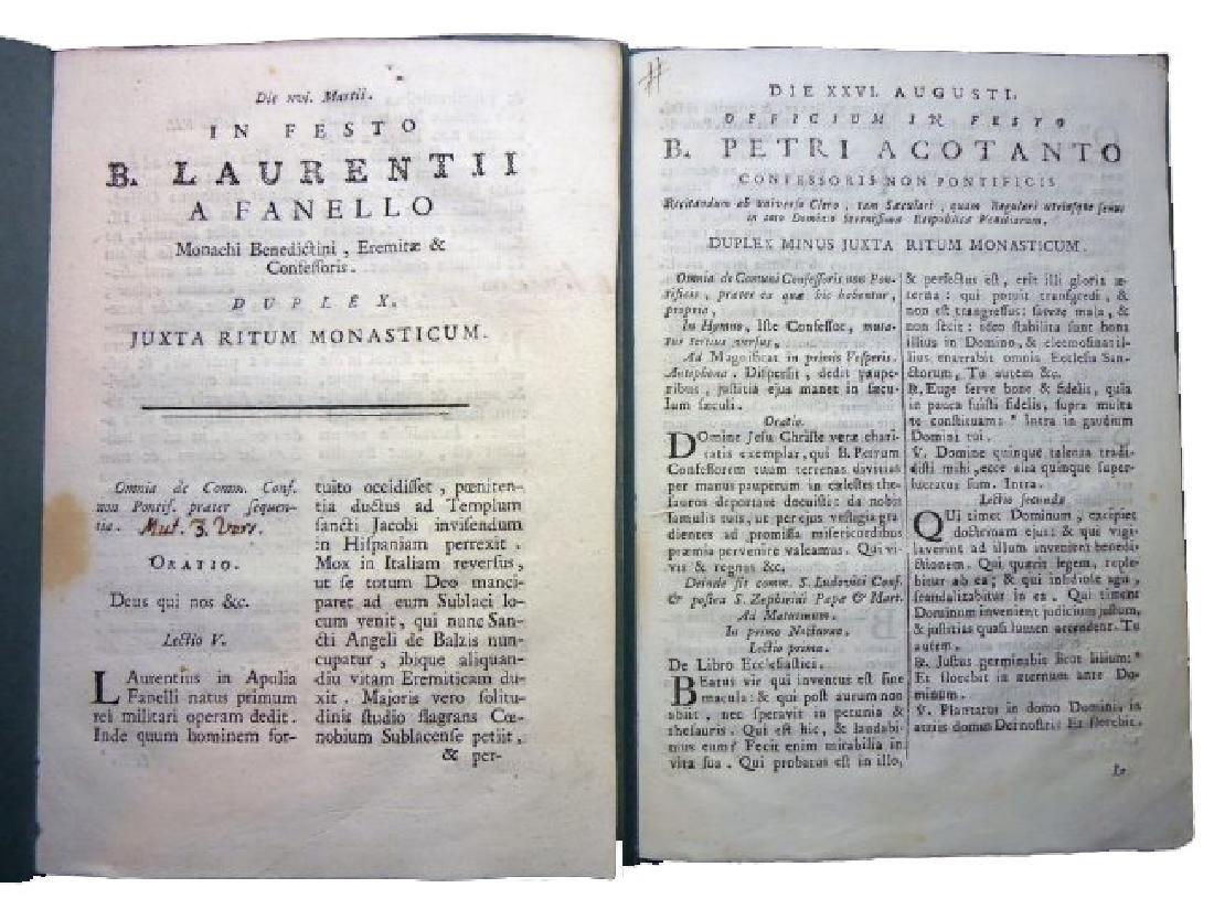 [Saints' Feasts] 19 plaquettes, 18th century - 5