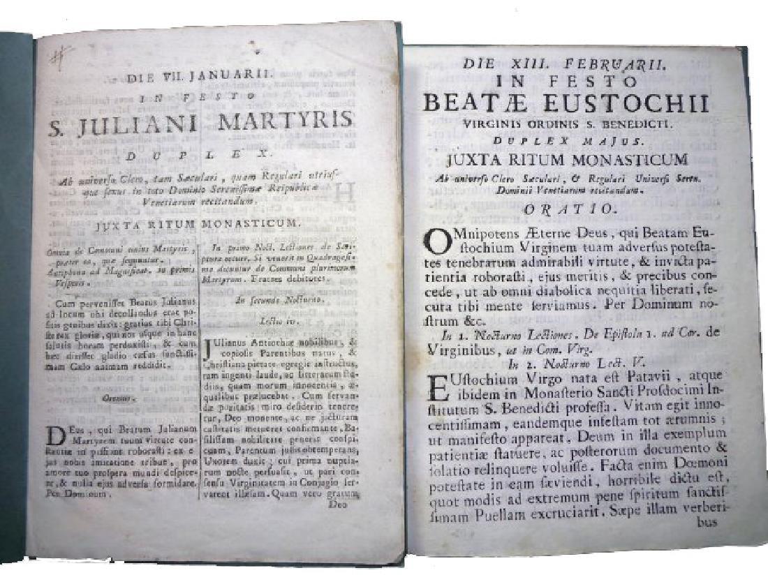 [Saints' Feasts] 19 plaquettes, 18th century - 7