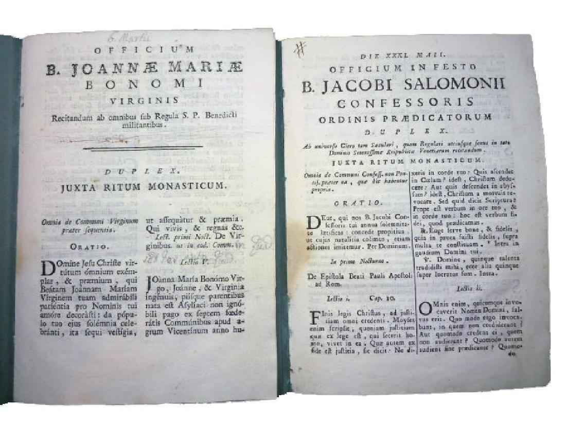 [Saints' Feasts] 19 plaquettes, 18th century - 8