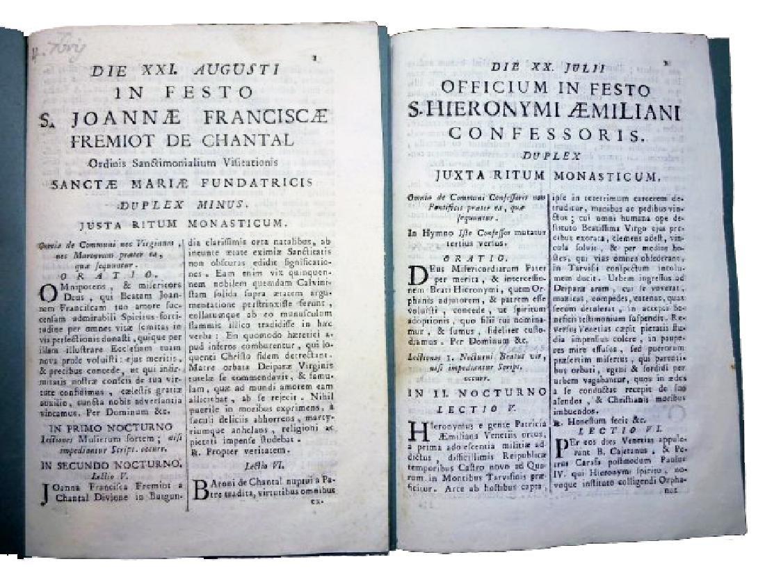 [Saints' Feasts] 19 plaquettes, 18th century - 9