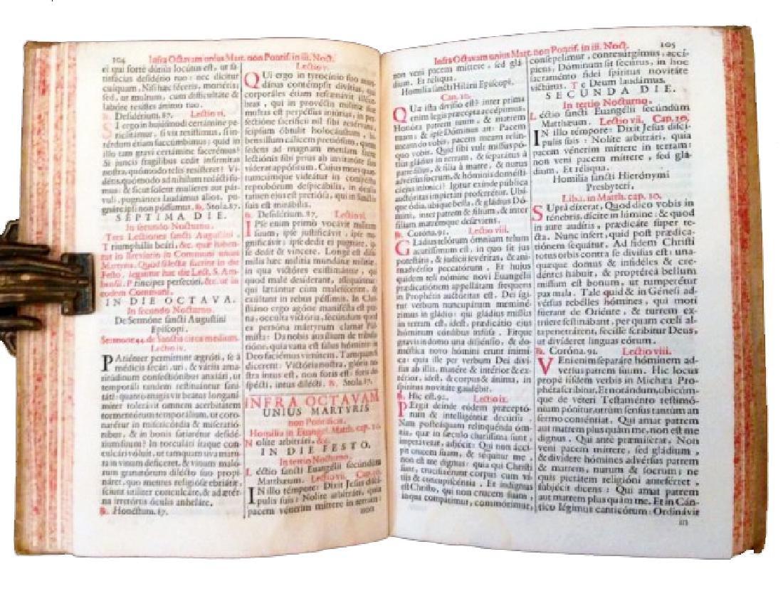 [Liturgy, Feasts] Octavarium Romanum, 1713 - 2
