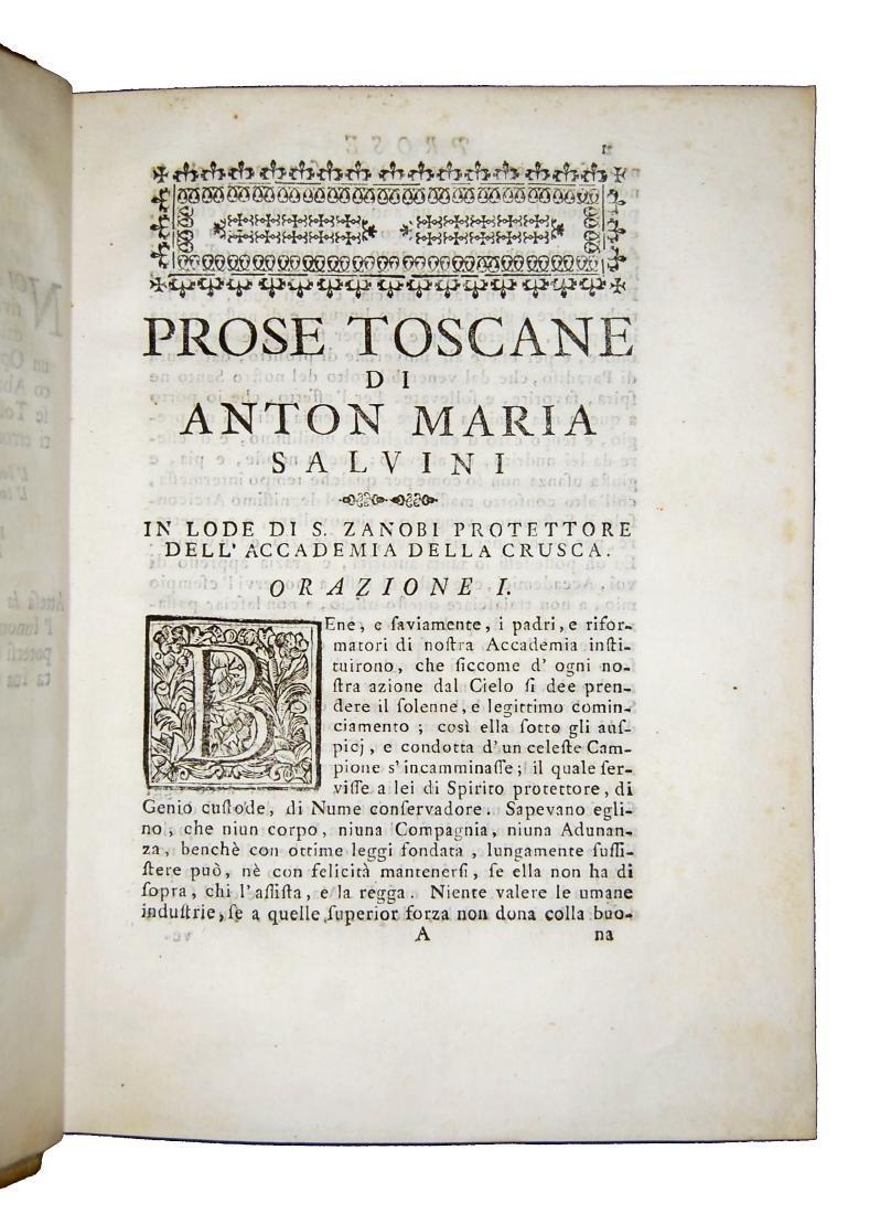 [Prose, Tuscany] Salvini, Prose toscane, 1715 - 4