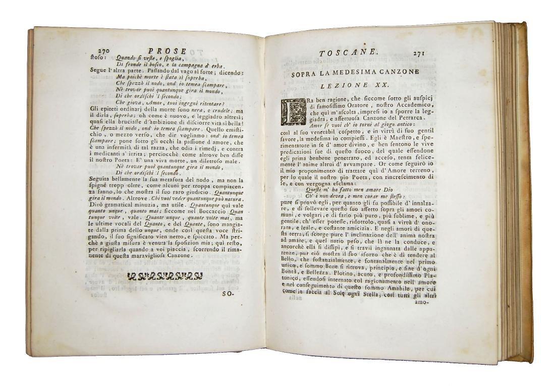 [Prose, Tuscany] Salvini, Prose toscane, 1715 - 5