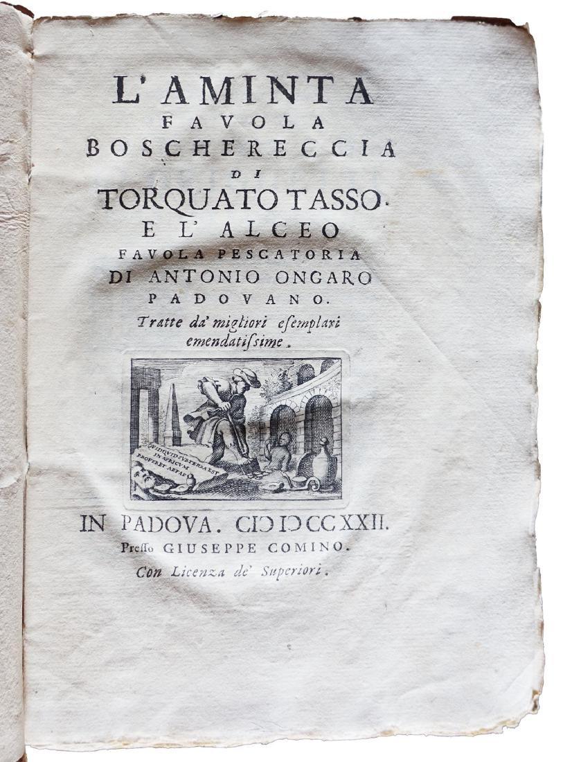 [Novels] Tasso, Aminta, 1722
